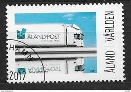 Aland 2017 N° 436 Oblitéré My Aland Camion Postal - Aland