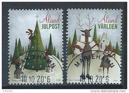Aland 2016 N° 430/431 Oblitérés  Noël - Aland