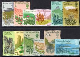 Tristan Da Cunha 1972 Flowering Plants Unmounted Mint. - Tristan Da Cunha