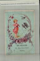 CALENDRIER SEMESTRIEL  1881  AUX PRECHEURS PARIS  M. MARCHON MERCERIE    (AVRI 2021 ABL 078) - Formato Piccolo : ...-1900