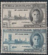 Turks And Caicos - #90-91(2) -  MNH - Turks E Caicos