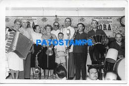 157441 ARGENTINA COSTUMES MUSIC BANDONEON TANGO PHOTO NO POSTAL POSTCARD - Argentina
