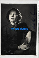 157448 ARGENTINA ARTIST LIBERTAD LAMARQUE ACTRESS & SINGER AUTOGRAPH PHOTO NO POSTAL POSTCARD - Argentinië