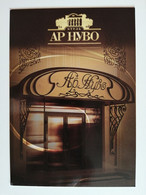 KAZAKHSTAN..ADVERTISING  POSTCARD ''TIME''.. HOTEL ''AR-NUVO'' - Hotels & Restaurants