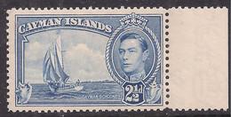 Cayman Islands 1938 - 48 KGV1 2 1/2d Bright Blue Umm SG 120 ( C1331 ) - Cayman Islands