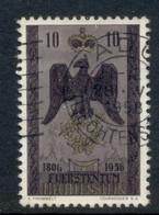 Liechtenstein 1956 Independence 150th Anniv. 10rp FU - Gebraucht