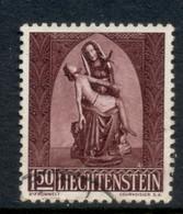 Liechtenstein 1957 Pieta 1.50f FU - Gebraucht