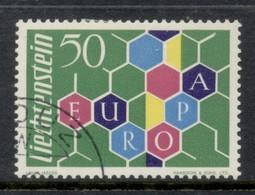 Liechtenstein 1960 Europa CTO - Gebraucht