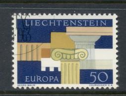 Liechtenstein 1963 Europa CTO - Gebraucht