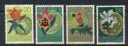 Liechtenstein 1970 Native Flowers CTO - Gebraucht
