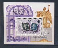 ANGUILLA 1990 LONDON 90 SPECIMEN YVERT N°B87  NEUF MNH** - Anguilla (1968-...)