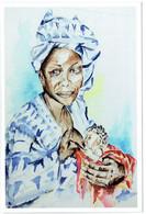 Mali - Solidarité Avec Les écoles De Koulikoro - Maternité - Dessin De Nathalie Pizzol - Mali