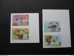 Azerbaijan 2000  PROOF Imperforated Block WWF Ducks MNH - Other