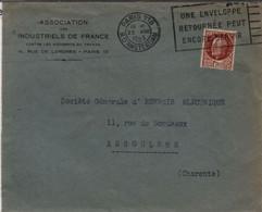 """Ecologie économie """"une Enveloppe Retournée Peut Encore Servir"""" Paris 25 Août 1943 - Environment & Climate Protection"""