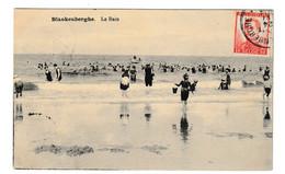 Blankenberge Le Bain Briefstempel 1914 - Blankenberge