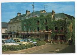 CPM     72   LA CHARTRE SUR LE LOIR     1989         HOTEL BAR RESTAURANT DE FRANCE - Hotels & Restaurants
