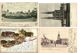 PL: 8x Ansichtskarte 1898-1913, Warschau - Non Classificati
