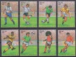 Soccer World Cup 1998 - PALAU - Set 8v MNH - 1998 – Francia