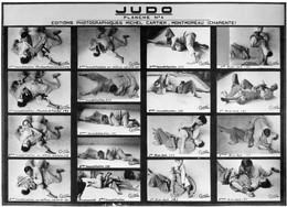 7 Plaques Lumière Lumichrome-18x24 éditions Photographie Sur Le Judo, Par Michel Cartier. + 1 Photo Et 2 Plaquue N°7&6 - Glass Slides