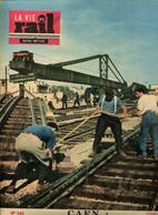 Caen Reconstruction Ferroviaire La Vie Du Rail 1952 - Trains