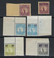 SVEZIA - 1910 / 18  ✨ Re Gustavo V ✨ N.° 61 + 99 + 109 /11 + 1 Pacchi, Nuovi ** - Cat. 10 € - Lotto N. 130 - Neufs