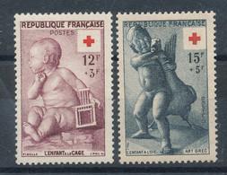 1048 Et 1049** Croix-rouge - Ongebruikt