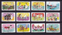France 2020 Oblitéré : Vacances - Adhesive Stamps