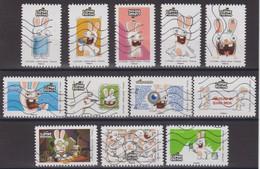 France 2020 Oblitéré: The Lapins Crétins-Dans Ta Bwaaahte Aux Lettres - Adhesive Stamps