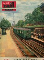 Cinquantenaire De La Ligne Paris-Invalides Versailles Rive Gauche 1952 - Trains