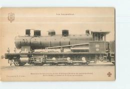 Cie D'Orléans : Machine 5001 Trains Marchandises. TBE. 2 Scans. Les Locomotives, Edition Fleury - Equipment