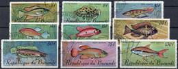 PA62/70 - 1967 - Poissons (oblitérés / Used) - 1962-69: Oblitérés
