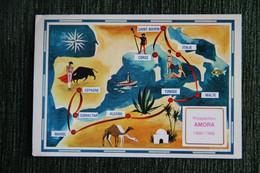 Escale à GIBRALTAR - Carte Initinéraire - Gibraltar