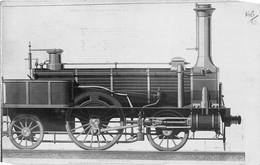 ¤¤   -  Carte-Photo D'une Locomotive Ancienne   -  Chemin De Fer De Lyon      -  ¤¤ - Equipment