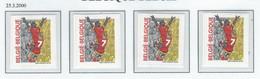 COB  2894/2894c  MNH - Unused Stamps