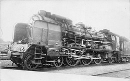 ¤¤   -  Carte-Photo D'une Locomotive Ancienne   -  Chemin De Fer      -  ¤¤ - Equipment