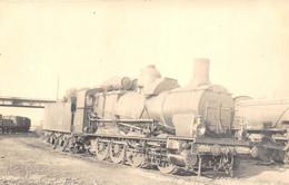 ¤¤   -  Carte-Photo D'une Locomotive Ancienne   -  Chemin De Fer Du P.L.M.        -  ¤¤ - Equipment