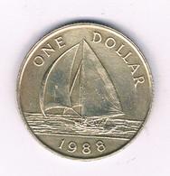 1 DOLLAR 1988 BERMUDA /3009/ - Bermuda