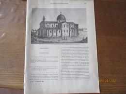 LES MISSIONS CATHOLIQUES DU 21 NOVEMBRE 1884 TCHE-KIANG CHINE,TERRE-SAINTE,NIGER,VISITE PASTORALE EN SENEGAMBIE..... - Riviste - Ante 1900