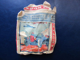 "Empty  CIGARETTE Pack  "" SPORT ""  By MAIKAPAR  Latvia  1930s - Porta Sigarette (vuoti)"