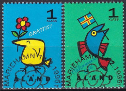 ALAND 1996 Mi-Nr. 107/08 O Used - Aus Abo - Aland