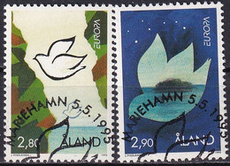 ALAND 1995 Mi-Nr. 100/01 O Used - Aus Abo - Aland