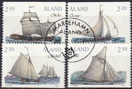 ALAND 1995 Mi-Nr. 95/98 O Used - Aus Abo - Aland