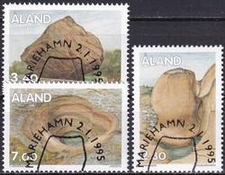 ALAND 1995 Mi-Nr. 92/94 O Used - Aus Abo - Aland