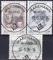 ALAND 1994 Mi-Nr. 88/90 O Used - Aus Abo - Aland