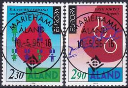 ALAND 1994 Mi-Nr. 86/87 O Used - Aus Abo - Aland