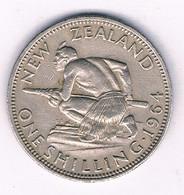 ONE SHILLING 1964 NIEUW ZEELAND /3018/ - New Zealand