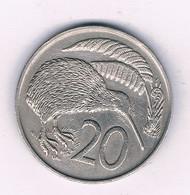 20 CENTS 1967 NIEUW ZEELAND /3019/ - New Zealand