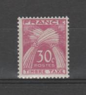 "FRANCE / 1946-1955 / Y&T TAXE N° 79 ** : Gerbes ""Timbre-Taxe"" 30c X 1 - 1859-1955 Nuevos"
