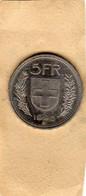 Monnaie De La Suisse - 5 Francs 1998 Lettre B Berne En Cupronickel - TTB+ - Switzerland
