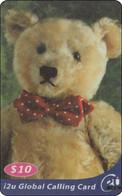 Nice Singapore Phonecard Teddy Bears - Singapore
